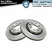 Brake Rotor Front Driver And Passenger Side Pair For Chevy Aveo Spark G3