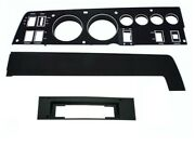 Pg Classic 143-8acset Mopar 1968 Charger Rallye Dash Bezel Kit 8 Track-with Ac