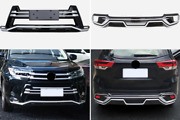 Toyota Highlander 2017 2019 Abs Front And Rear Bumper Diffuser Lip Spoiler Cover