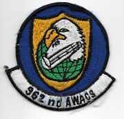 Theatre Made Usaf 962nd Awacs Squadron Patch
