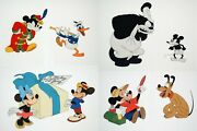 Walt Disneyand039s Mickey Mouse 50th Anniversary Commemorative Limited Edition Cels