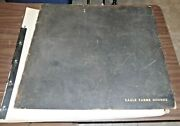 Large 1930s Dog Breeding Record Journal Eagle Farms Hounds Chester Springs Pa