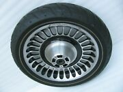 Harley Davidson 17 Knuckles Front Wheel And Tire Touring Ultra Classic Limited