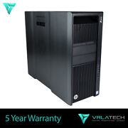Hp Z840 Workstation 32gb Ram E5-2643v3 3tb And 512gb Pcie K2200