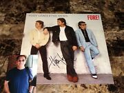 Huey Lewis And The News Rare Autographed Signed Vinyl Record 1986 Fore + Coa Photo