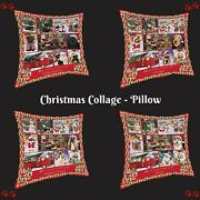 Love Is Being Owned Christmas Pillow Dogs Cats Pet Photo Home Decor Gifts