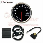 Defi Can Driver And Advance Bf 80mm Tachometer Set White 80mm Df15702