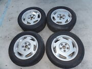 1988 Corvette Aftermarket Copy Rims And Tires 16 X 8.5 4 Nice No Shipping