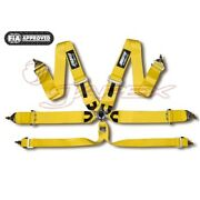 Hpi 6-point 3 Inch Racing Harness Yellow Hprh-6103yl
