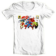 The Avengers T-shirt Cool Retro Vintage Giant Man Golden Age Marvel Graphic Tee