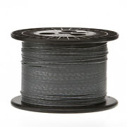 14 Awg Gauge Solid Hook Up Wire Gray 1000 Ft 0.0641 Ul1007 300 Volts