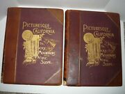 Picturesque California By John Muir1888 Two Volumes Illustrated Rocky Mountains