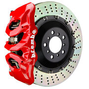 Brembo Gt Bbk For 17-19 540i / 540i Xdrive M-sports | Front 6pot Red 1t1.9503a2