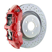 Brembo Gt Bbk For 16-19 Camaro Ss | Front 6pot Red 1l4.8018a2