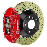 Brembo Gt Bbk For 06-12 997 Turbo Excl. Pccb | Rear 4pot Red 2p1.9005a2