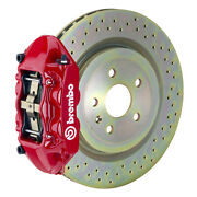 Brembo Gt Bbk For 66-89 911s / Sc / Carrera   Front 4pot Red 1p4.6001a2