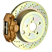 Brembo Bbk For 15-19 Wrx Excl. Models W/ Electronic | Rear 2pot Gold 2e4.5003a4