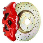 Brembo Bbk For 15-19 Wrx Excl. Models W/ Electronic   Front 4pot Red 1s4.6002a2