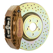 Brembo Bbk For 15-19 Wrx Excl. Models W/ Electronic | Front 4pot Gold 1e4.6003a4