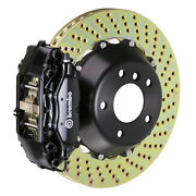 Brembo Bbk For 05-10 Charger W/v8 Engine Excl. Awd | Rear 4pot Black 2c1.8019a1