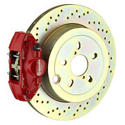 Brembo Bbk For 15-19 Wrx Excl. Models W/ Electronic | Rear 2pot Red 2e4.5003a2