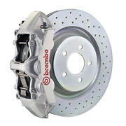 Brembo Gt Bbk For 16-19 Camaro Ss   Front 6pot Silver 1l4.8018a3