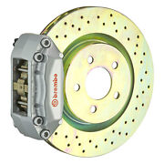 Brembo Gt Bbk For 05-13 Mazda3   Front 4pot Silver 1a4.6004a3