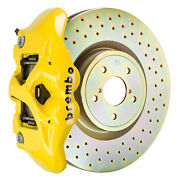 Brembo Gt Bbk For 12-19 Brz   Front 4pot Yellow 1s4.6003a5
