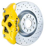 Brembo Gt Bbk For 09-15 Tts 8j | Front 4pot Yellow 1s4.8001a5