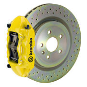Brembo Gt Bbk For 66-89 911s / Sc / Carrera   Front 4pot Yellow 1p4.6001a5