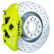 Brembo Gt Bbk For 06-13 A3 8p | Front 4pot Yellow 1s4.8002a7