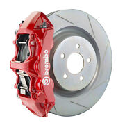 Brembo Gt Bbk For 16-19 Camaro Ss   Front 6pot Red 1l5.8018a2