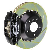 Brembo Bbk For 05-10 Charger W/v6 Engine Excl. Awd | Rear 4pot Black 2c2.8019a1