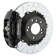Brembo Bbk For 05-10 Charger W/v6 Engine Excl. Awd | Rear 4pot Black 2c3.8019a1