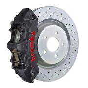 Brembo Gt-s Bbk For 16-19 Camaro Ss   Front 6pot Hard Anodized 1l4.8018as