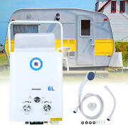 Samger 6l Propane Gas Lpg Tankless Water Heater 1.6gpm Instant Boiler Outdoor Rv