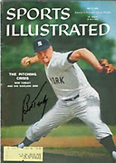 Bob Turley Autographed / Signed Sports Illustrated Magazine May 4 1959