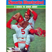 Johnny Bench Unsigned Sports Illustrated Magazine