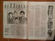 Buzzcocks And039looking Backand039 1982 2 Page Uk Article / Clipping