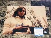 Rodriguez Rare Authentic Signed 11x14 Photo Searching For Sugar Man Sixto Bas