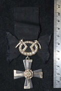 Finland 1941 Wwii Medal Mourning Order Liberty Complete Military Ribon Cross