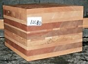 Quilted Tiger Flame Curly Maple 10180 Laminated Bowl Lumber Wood Blank