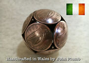 Bronze Irish Two Penny Coin Coinball .. Various Years Available 1971 - 1988 ..
