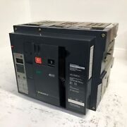 Square D Nw16n 1600a Masterpact Lsig Circuit Breaker W/ Shunt 1600 Amp 3p Ground