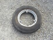 Farmall H M Sh 300 350 Sm Mta Tractor Ih Buckle 15 Front Rim And Armstrong Tire