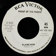 Proof Of The Puddin'-color Wheel+flying High-psych Rock Dj 45-rca Victor 9332