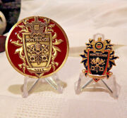 Secret Service 2015 Visit Of Pope Francis To The United States Coin And Pin-set V2