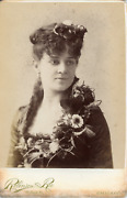 Robinson And Roe Chicago Actrice Andagrave Identifier Vintage Albumen Print Tirag