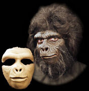 Gorilla Ape Halloween Mask Foam Latex Prosthetic Appliance Moves With Face