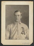 1910 Heinie Heitmuller Baseball Superstar Carl Horner Cabinet Photo Card Image